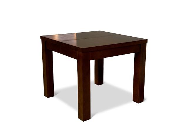 kwadratowy stół dębowy