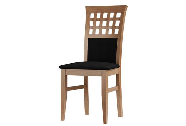 krzesło bukowe półkratka