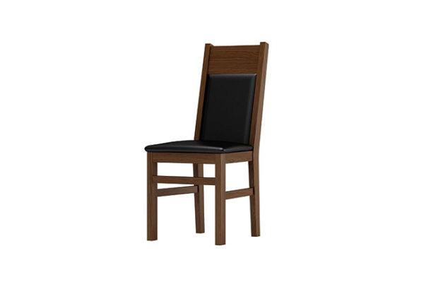 krzesło debowe tapicerowane