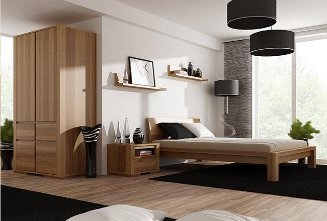 Sypialnia meble dębowe
