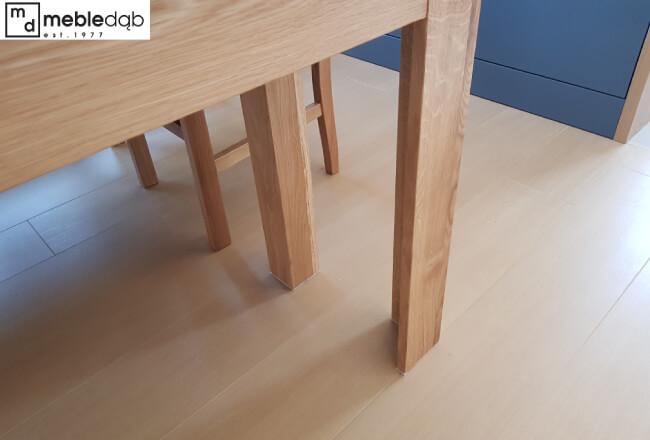 noga stołu debowego rozkaldanego na 400 cm