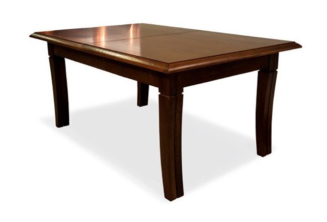 stylizowany stół debowy