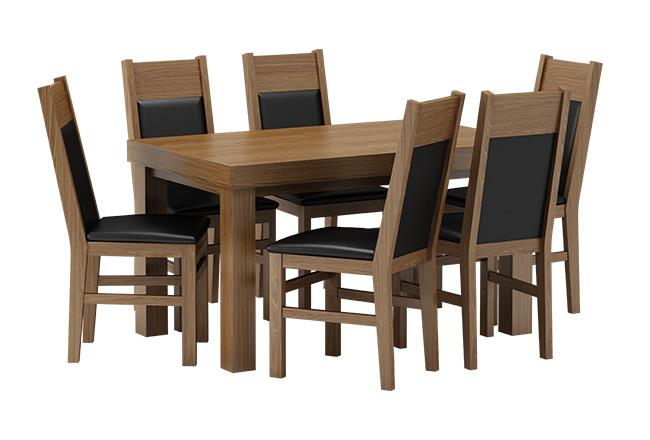 stol leo krzesła