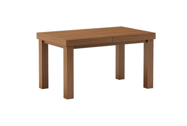 Stół dębowy Leo przed rozłożeniem