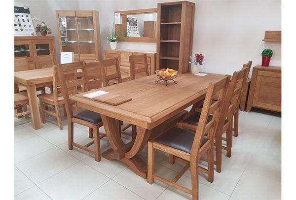stół dębowy masywny