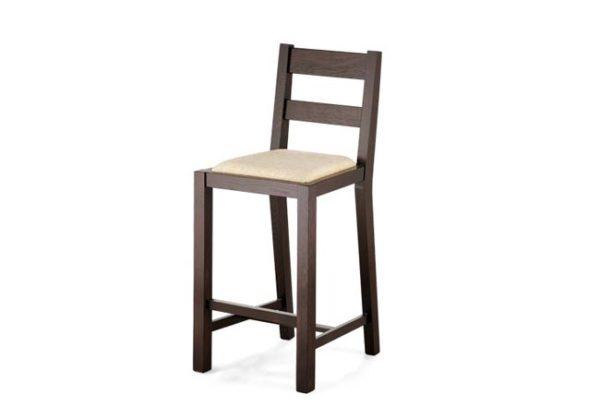 krzesło barowe dębowe