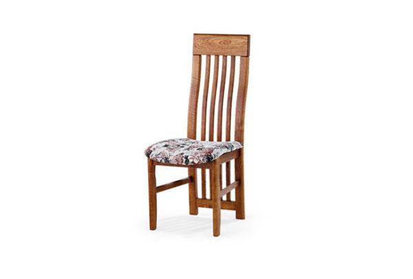 krzesło debowe harfa