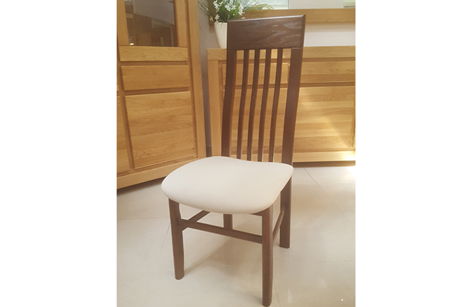 krzesło dębowe sati realizacja
