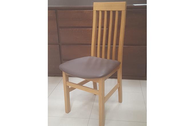 krzesło dębowe szczebelek