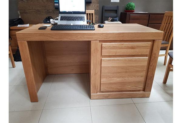 biurko z dębu