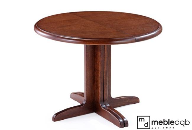 ogrągły stół dęboy